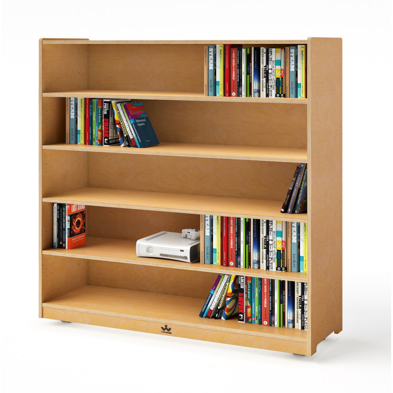 "Mobile Adjustable Shelf Cabinet- 48""H"