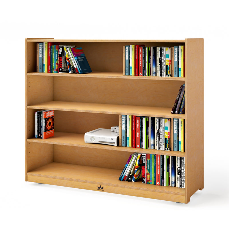 "Mobile Adjustable Shelf Cabinet- 42""H"