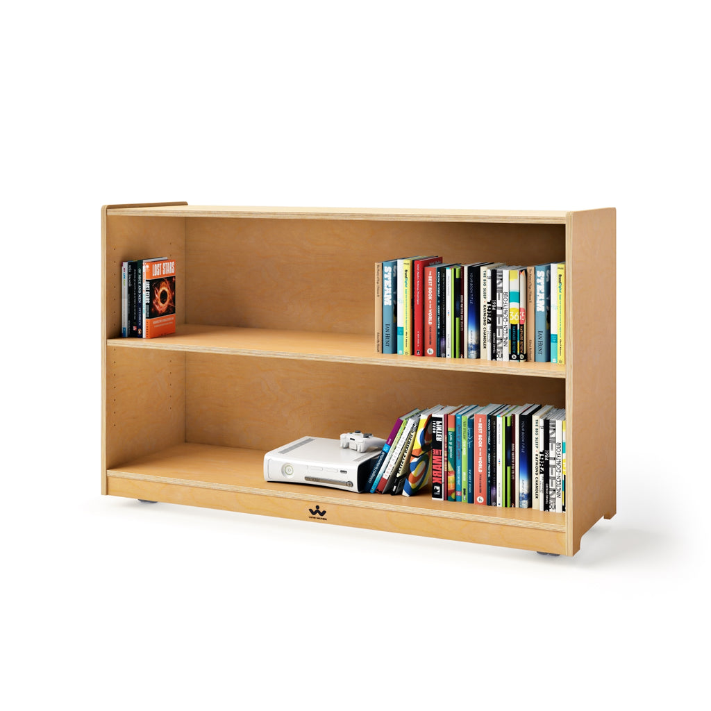 "Mobile Adjustable Shelf Cabinet- 30""H"