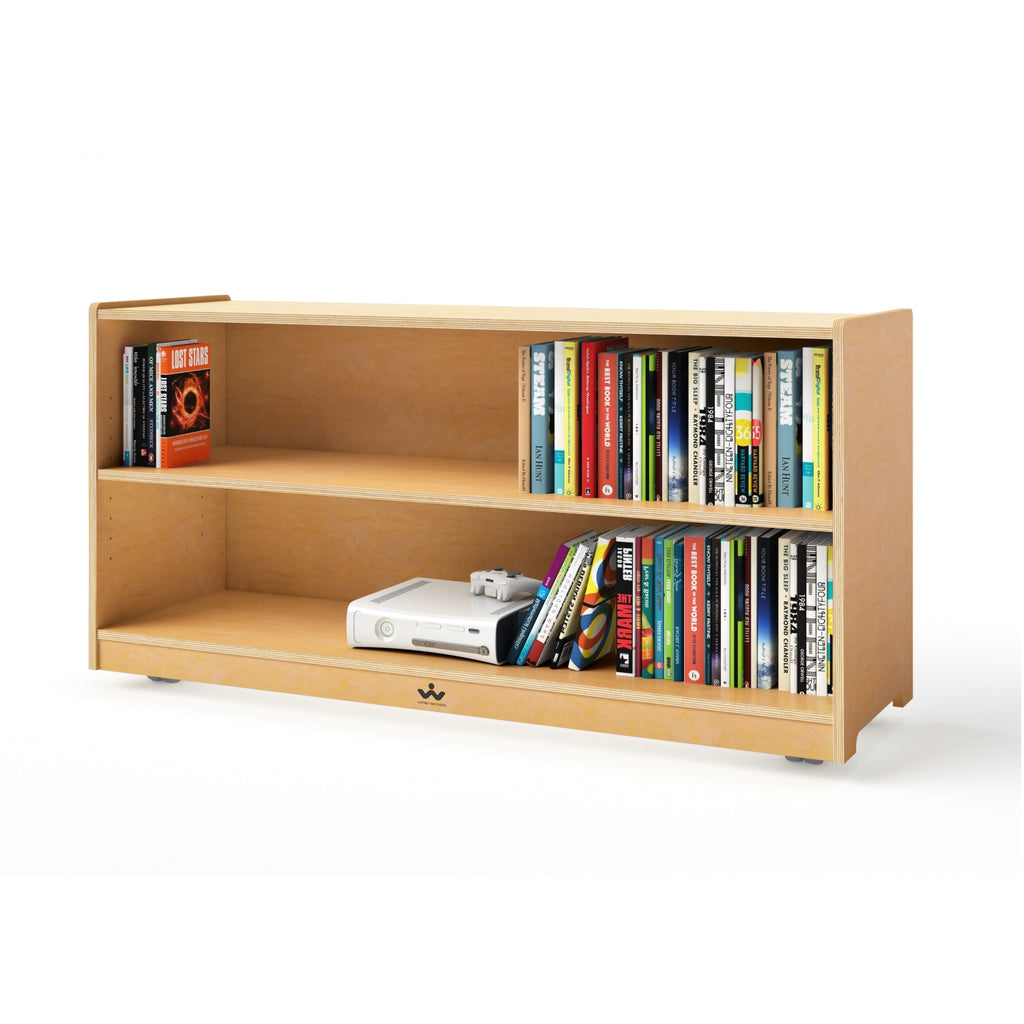 Mobile Adjustable Shelf Cabinet- 24""