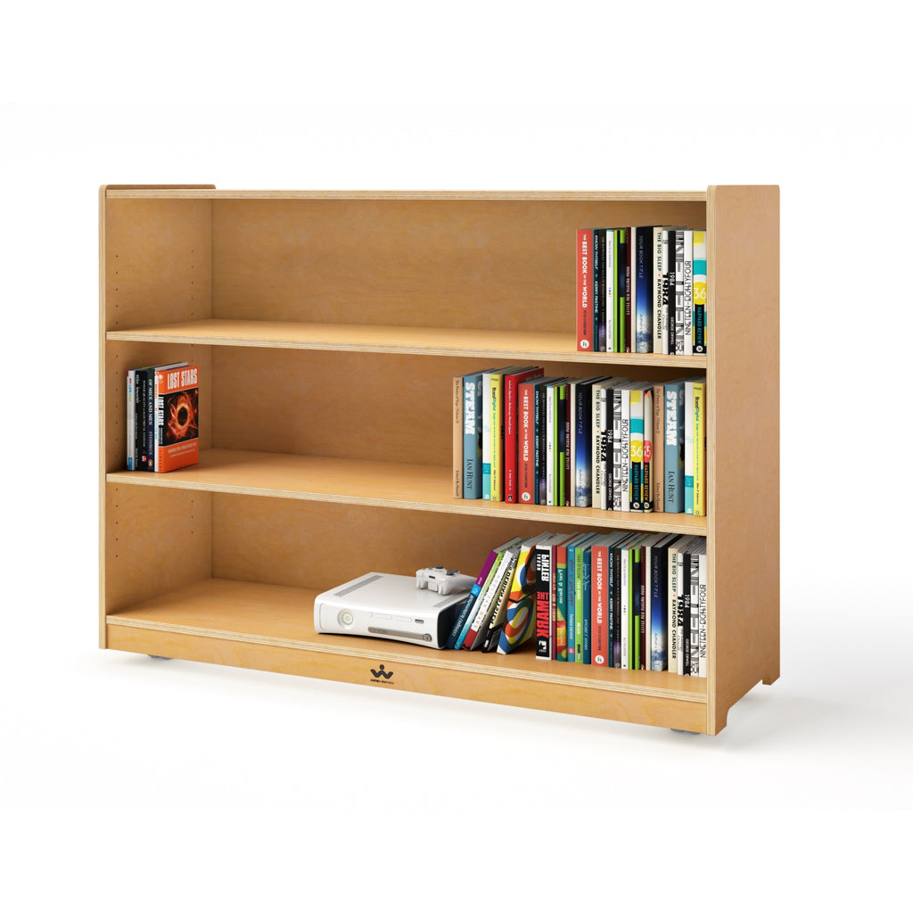 "Mobile Adjustable Shelf Cabinet- 36""H"