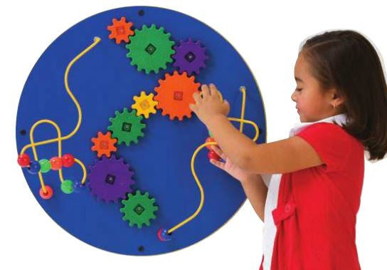 Loco-Motion Sphere Wall Panel Activity-Red or Blue