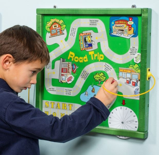 Magnetic Road Trip Wall Toy