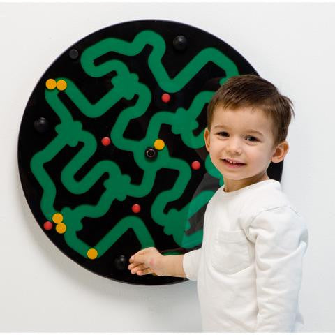 Amazer Wall Activity  - BLACK ON GREEN