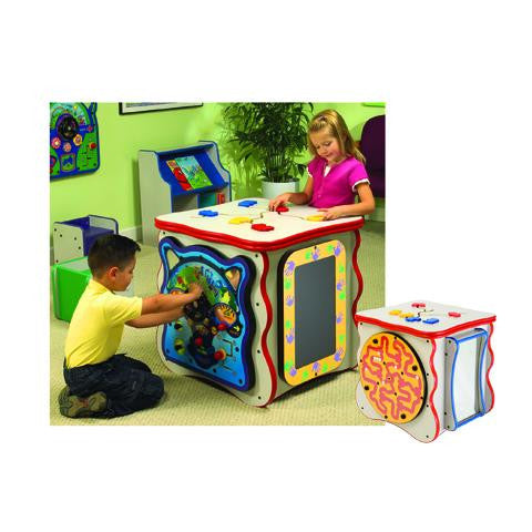 Exploration Island Five Sided Play Cube