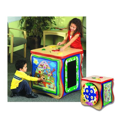 Healthy Island Play Cube with Five Games
