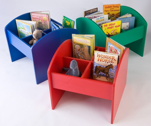 MyPlate Kinderbox Book and Media Storage 3 color choices