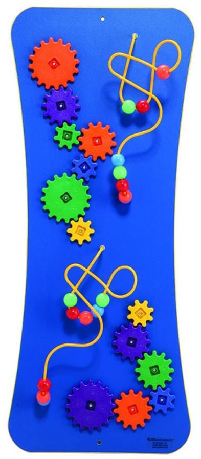 Wires, Beads and Gears Wall Activity Panel
