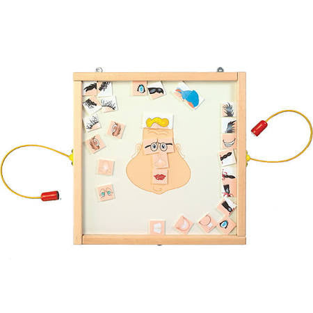 Magnetic Funny Face Wall Game