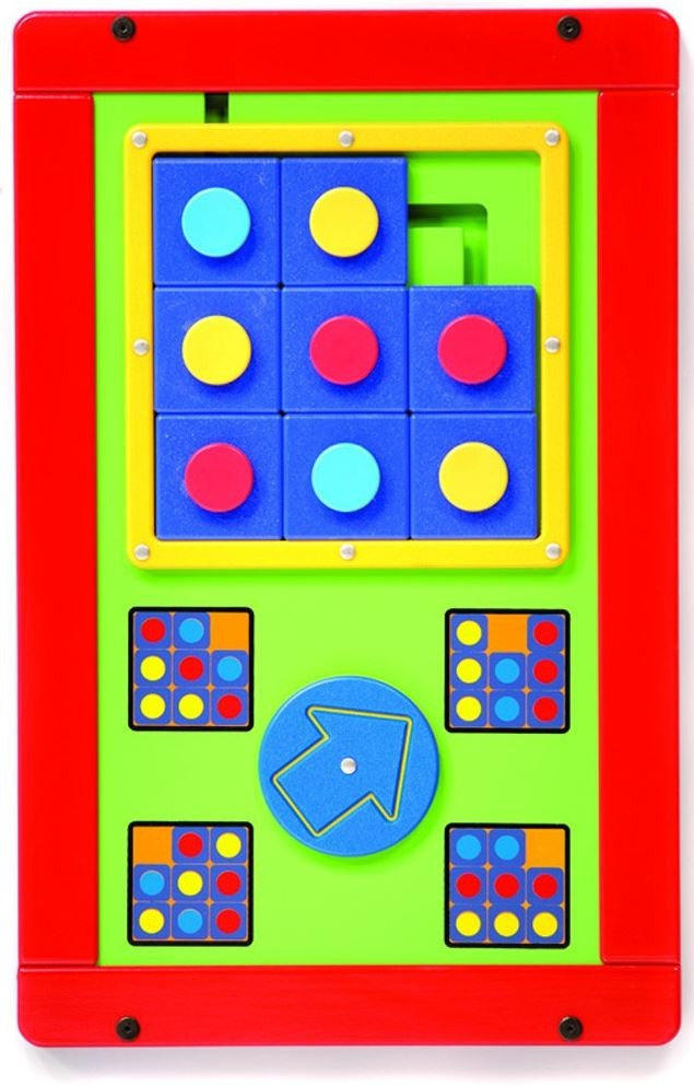 Tic Tac Wall Panel Game