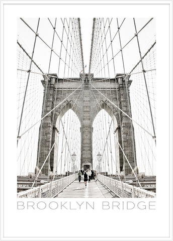 Brooklyn Bridge | Poster - Scandinavian Prints
