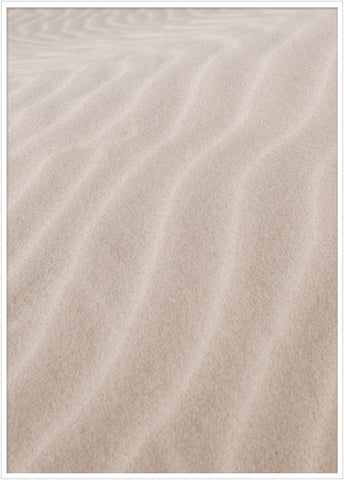 The white sand dunes of Mui Ne in Vietnam. Poster dessert