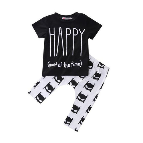 Baby Happy Clothing Set