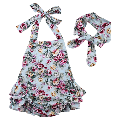 Adele Floral Playsuit