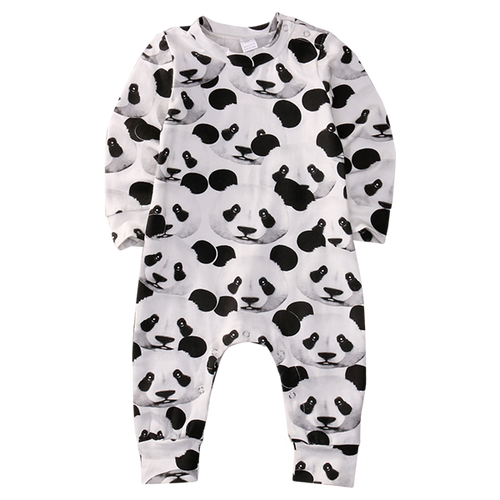 Adorable Panda Romper