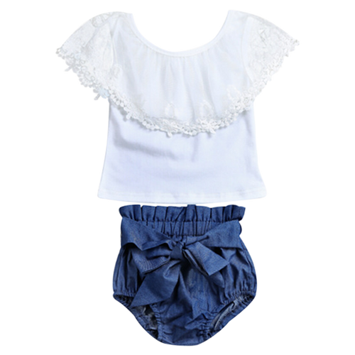 Little Denim Summer Set