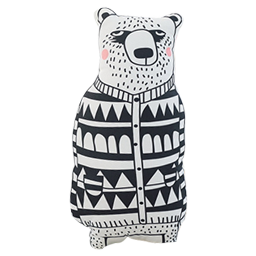 Bear Decor Pillow