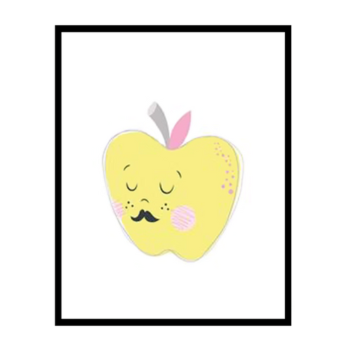 Apple Canvas Art Print