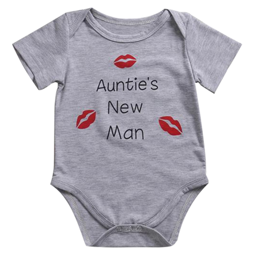 Auntie's New Man Bodysuit