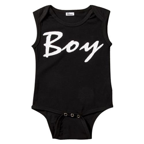 Boy Sleeveless Bodysuit