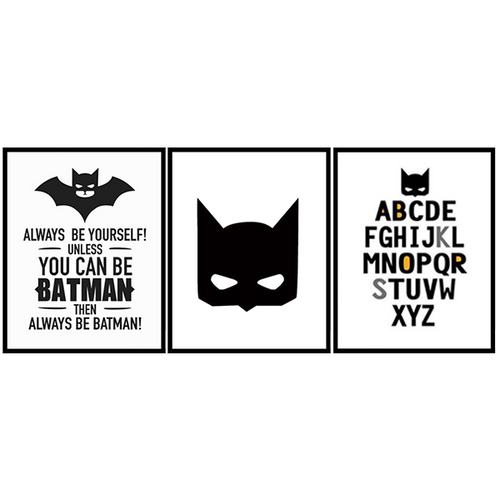 Batman Wall Print Set