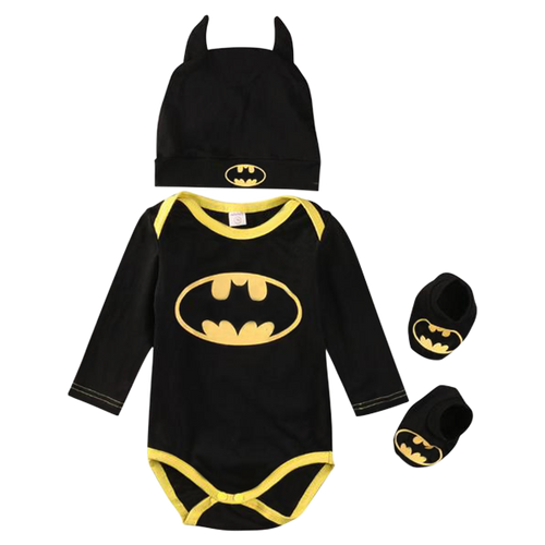 Batman Winter Bodysuit Set
