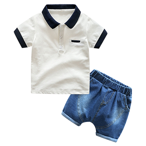 Boys Denim Summer Set