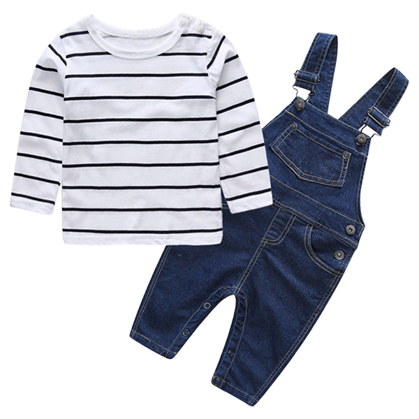 Petite Boy Denim Clothing Set
