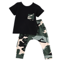 Camouflage Sport Clothing Set