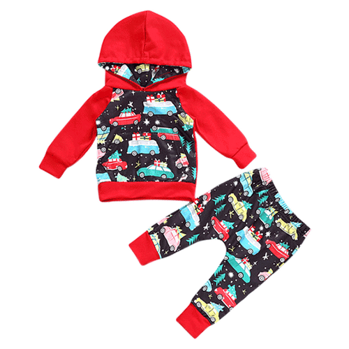 Cars for Christmas Clothing Set