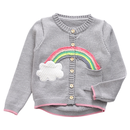 Cloud & Rainbow Sweater