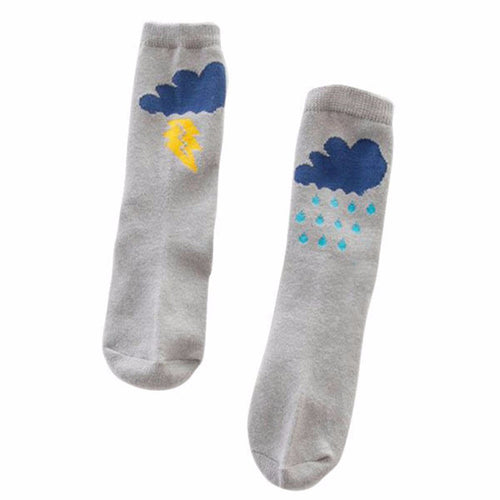 Cloud Knee Socks