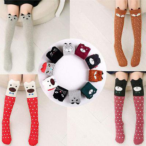 Cute Animal Knee High Socks