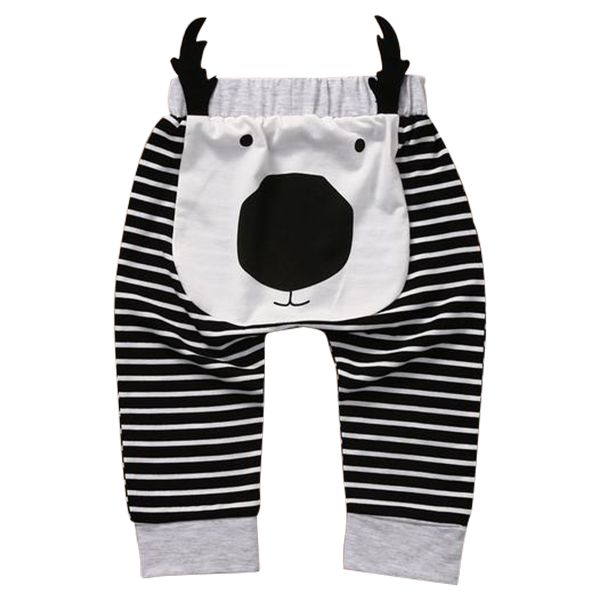 Deer Striped Trouser