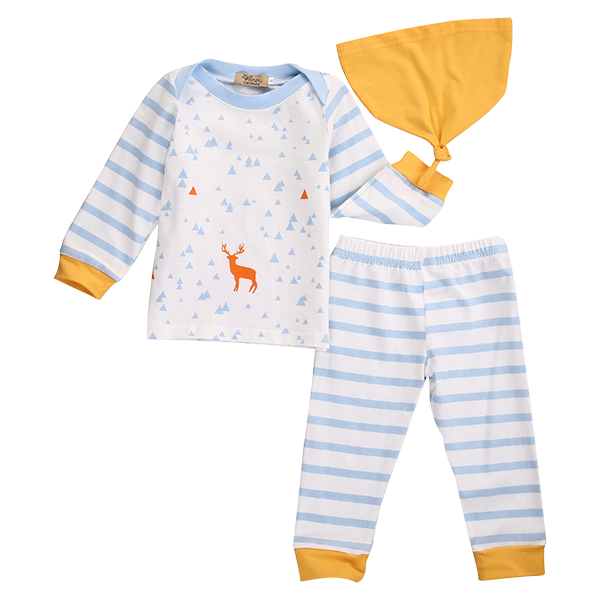 Deer Triangle Clothing Set
