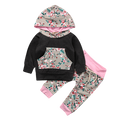 Floral Baby Clothing Set