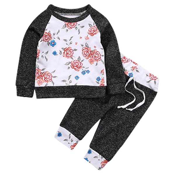 Floral Clothing Set