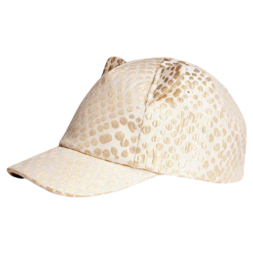 Golden Leopard Hat