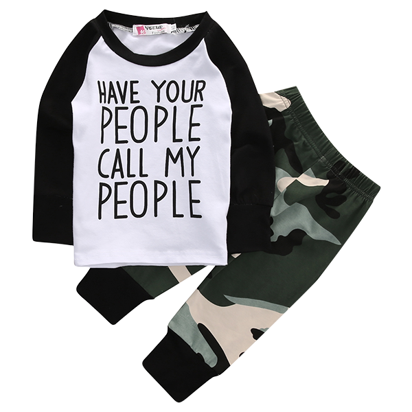 Have Your People Call My People Clothing Set