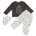 I Love Milk 3pc Clothing Set