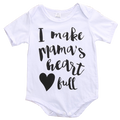I Make Mama's Heart Full Bodysuit