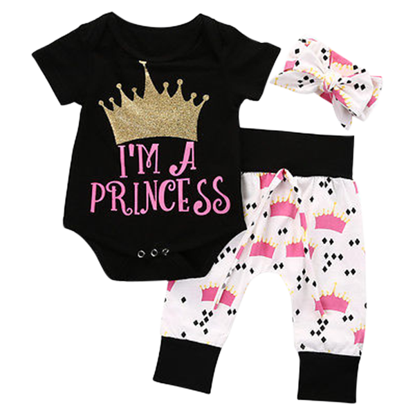 I'm A Princess Clothing Set