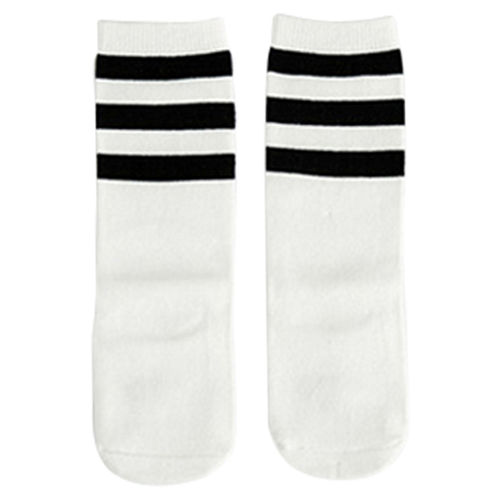 Black & White Knee High Socks