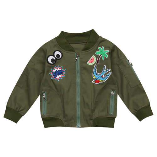 Kids Cartoon Jacket - Pandicorn