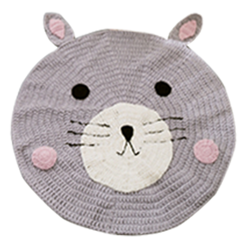 Knitted Mouse Carpet