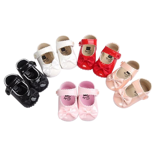 Baby Girl Bow Shoes