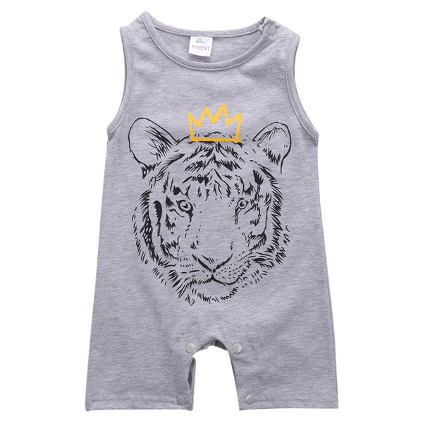 Lion Crown Romper