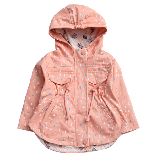 Little Girls Casual Coat