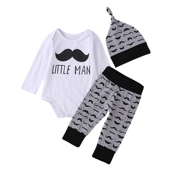 Little Man Clothing Set