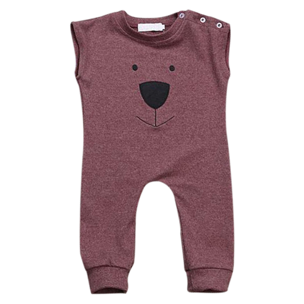 Little Red Bear Romper